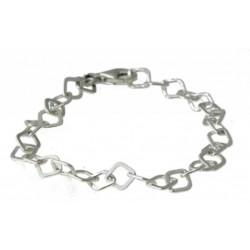 zilveren armbandje voor bedels