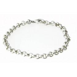 zilveren armbandje voor bedeltjes