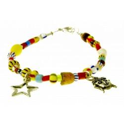 armband christmas beads met bedeltjes